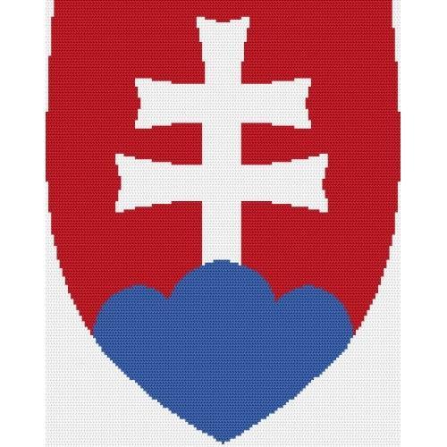 Wzór graficzny online - Godło Słowacji
