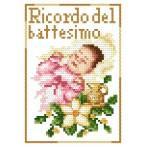 Wzór graficzny online - Pamiątka chrztu- Dziewczynka - B. Sikora
