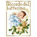 Wzór graficzny online - Pamiątka chrztu- Chłopczyk - B. Sikora