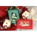Wzór graficzny online - Kartka świąteczna- Cicha noc - B. Sikora
