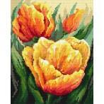 Wzór graficzny online - Pastelowe tulipany - B. Sikora-Małyjurek