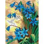 Wzór graficzny online - Wiosenne kwiaty