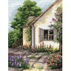 Wzór graficzny online - W zaciszu ogrodu - B. Sikora
