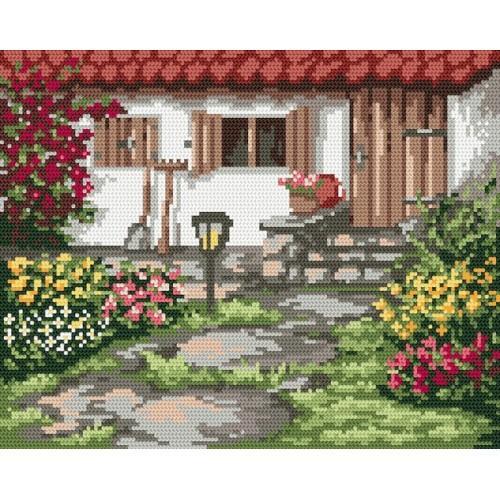 Wzór graficzny online - Wiosenny ogródek - B. Sikora