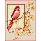 Wzór graficzny online - Karmazynowa piękność - B. Sikora