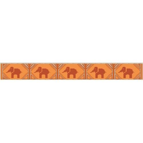 Wzór graficzny online - Ręcznik ze słonikami