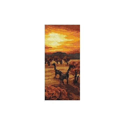 Wzór graficzny online - Zachód słońca - B. Sikora