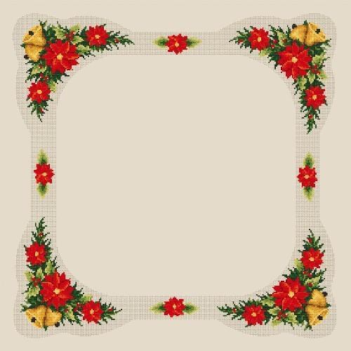 Wzór graficzny online - Obrus świąteczny - B. Sikora-Małyjurek