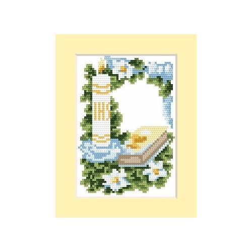 Wzór graficzny online - Zaproszenie komunijne