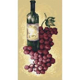 Wzór graficzny online - Wino czerwone - B. Sikora-Małyjurek