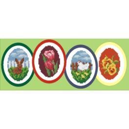 W 4650-01 Wzór graficzny online - Wielkanocne dekoracje