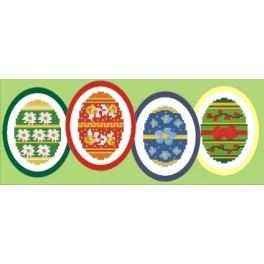 W 4650-03 Wzór graficzny online - Wielkanocne dekoracje
