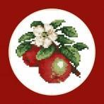 Wzór graficzny online - Soczyste jabłka - B. Sikora-Małyjurek