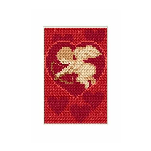 Wzór graficzny online - Walentynki- Amorek