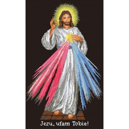 Wzór graficzny online - Jezus Miłosierny