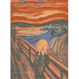 W 476 Wzór graficzny online - Krzyk - Edvard Munch