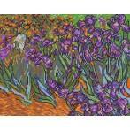 W 478 Wzór graficzny ONLINE pdf - Irysy - V. van Gogh