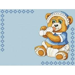 W 4936-02 Wzór graficzny ONLINE pdf - Narodziny dziecka - Chłopczyk