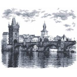 Wzór graficzny online - Most Karola