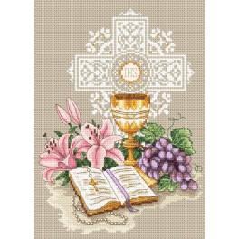 Wzór graficzny online - Pamiątka I Komunii Świętej