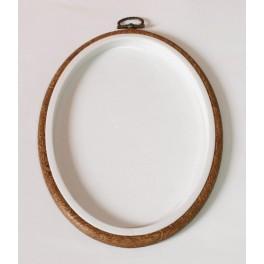Ramkotamborek owalny 6,5 x 8,5 cm