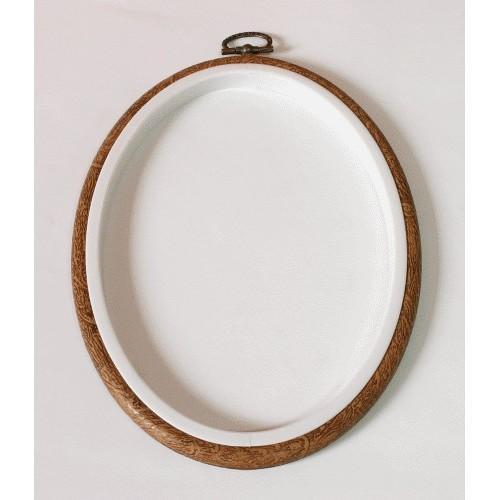 Ramkotamborek owalny 13 x 17,5 cm