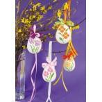 Wzór graficzny online - Kwiatowa pisanka – Krokus i tulipan