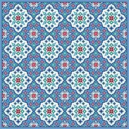 Wzór graficzny online - Poduszka orientalna