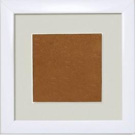 S 157005-1313-178 Ramka drewniana - kolor biały - jasno-szare psp (13,2x13,2cm)