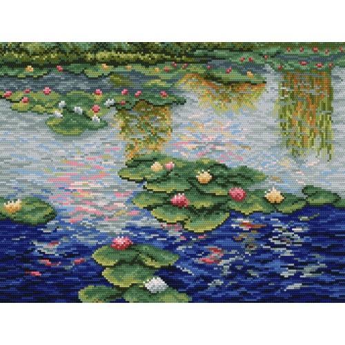 Wzór graficzny - Lilie wodne - Claude Monet