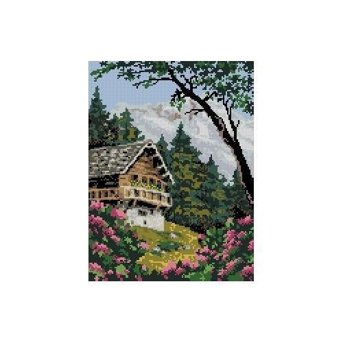 Wzór graficzny - W górach