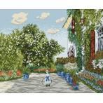Wzór graficzny - Dom Artysty w Argenteuil - Claude Monet