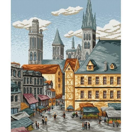 Wzór graficzny - Miasto