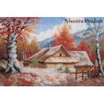 Wzór graficzny - Chaty jesienią - S. Sikora