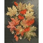 Wzór graficzny - Jesienne liście - Lena Rybica