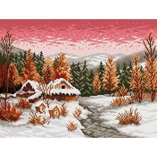 GC 4025 Wzór graficzny - Zimowy wieczór