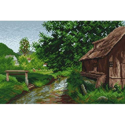 Wzór graficzny - Na wsi - E. Zetsche