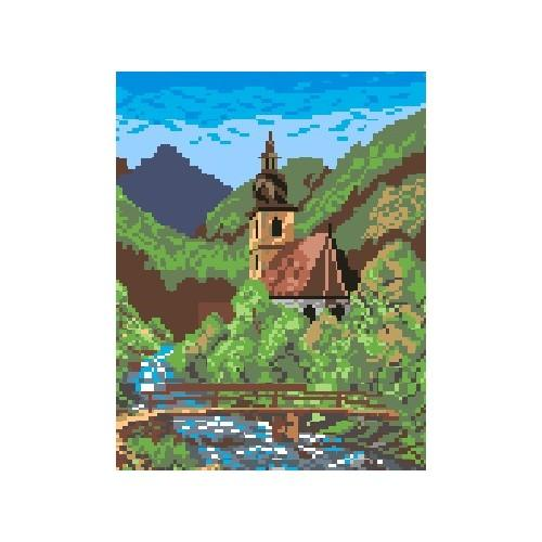 Wzór graficzny - Kościółek