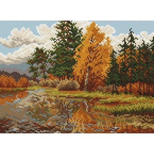 Wzór graficzny - Pejzaż jesienny