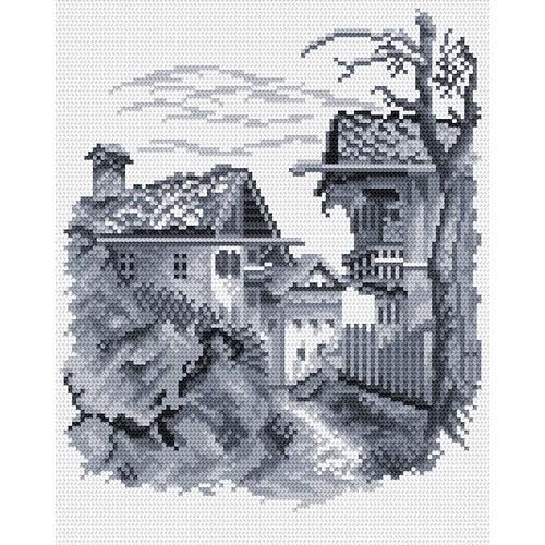 Wzór graficzny - Miasteczko