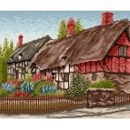 Wzór graficzny - Domek z ogródkiem