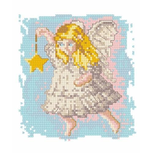 Wzór graficzny - Aniołek z gwiazdką