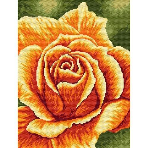 Wzór graficzny - Róża