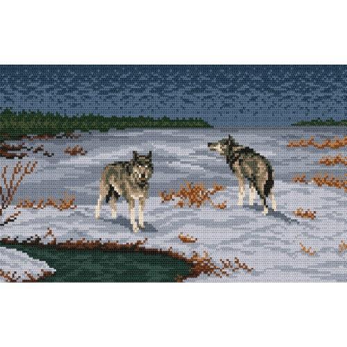 Wzór graficzny - Nocne polowanie