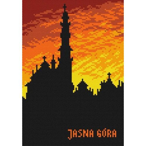 Wzór graficzny - Jasna Góra