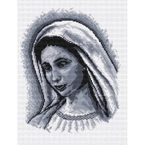 Wzór graficzny - Matka Boska