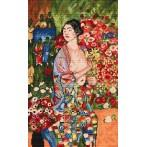 Wzór graficzny - Tancerka - G. Klimt