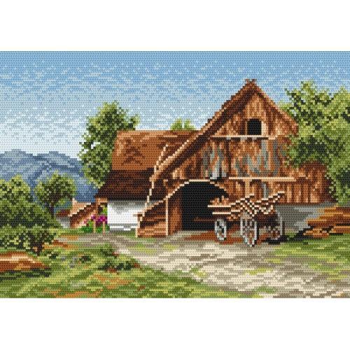 Wzór graficzny - Wiejski domek