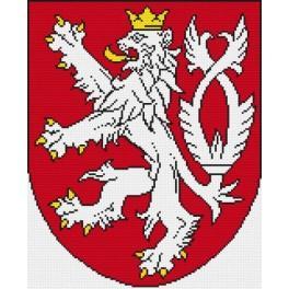Wzór graficzny - Godło Republiki Czeskiej
