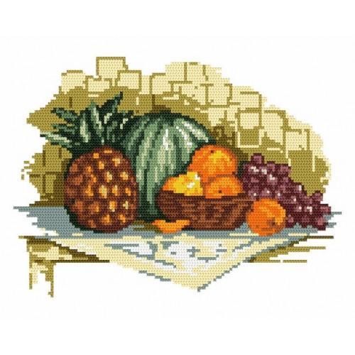 Wzór graficzny - Egzotyczne owoce - B. Sikora